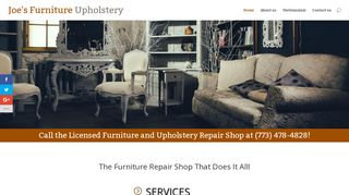 Joes Furniture Upholstery