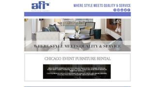 Afr Furniture Rental Chicago