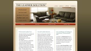 The Leather Solution