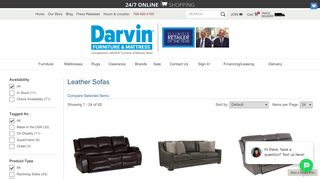Darvin Leather Furniture